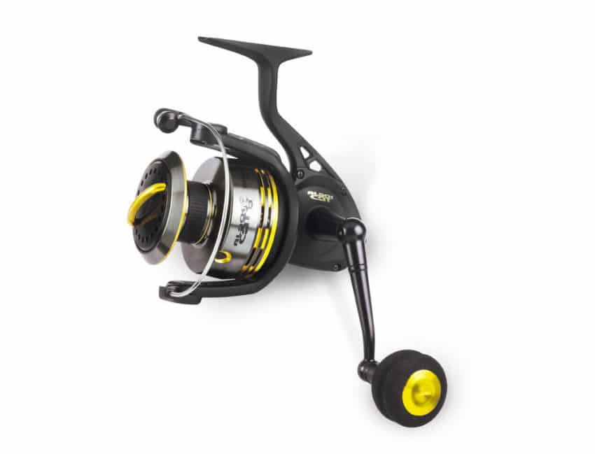 Moulinet Black Cat Shadow Spin pour pêcher le silure