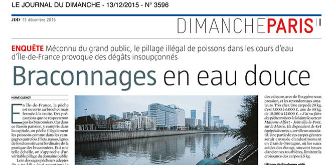 Photo of Braconnage en eau douce : que fait la police?