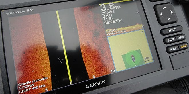 Photo de [Test] Sondeur GPS Garmin Echomap 72 SV : sondeur à tout faire
