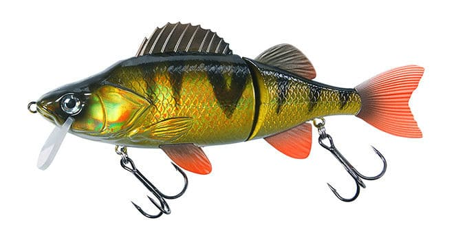 Photo de [Test] Leurre Effzett Slide'n Roll Perch : un swimbait à tout faire