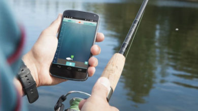 Application mobile pour la pêche